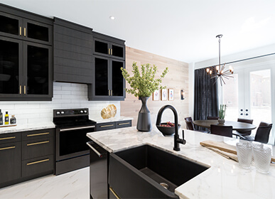 New Home Kitchens
