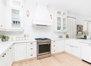 White Kitchen Designs by Treasure Hill