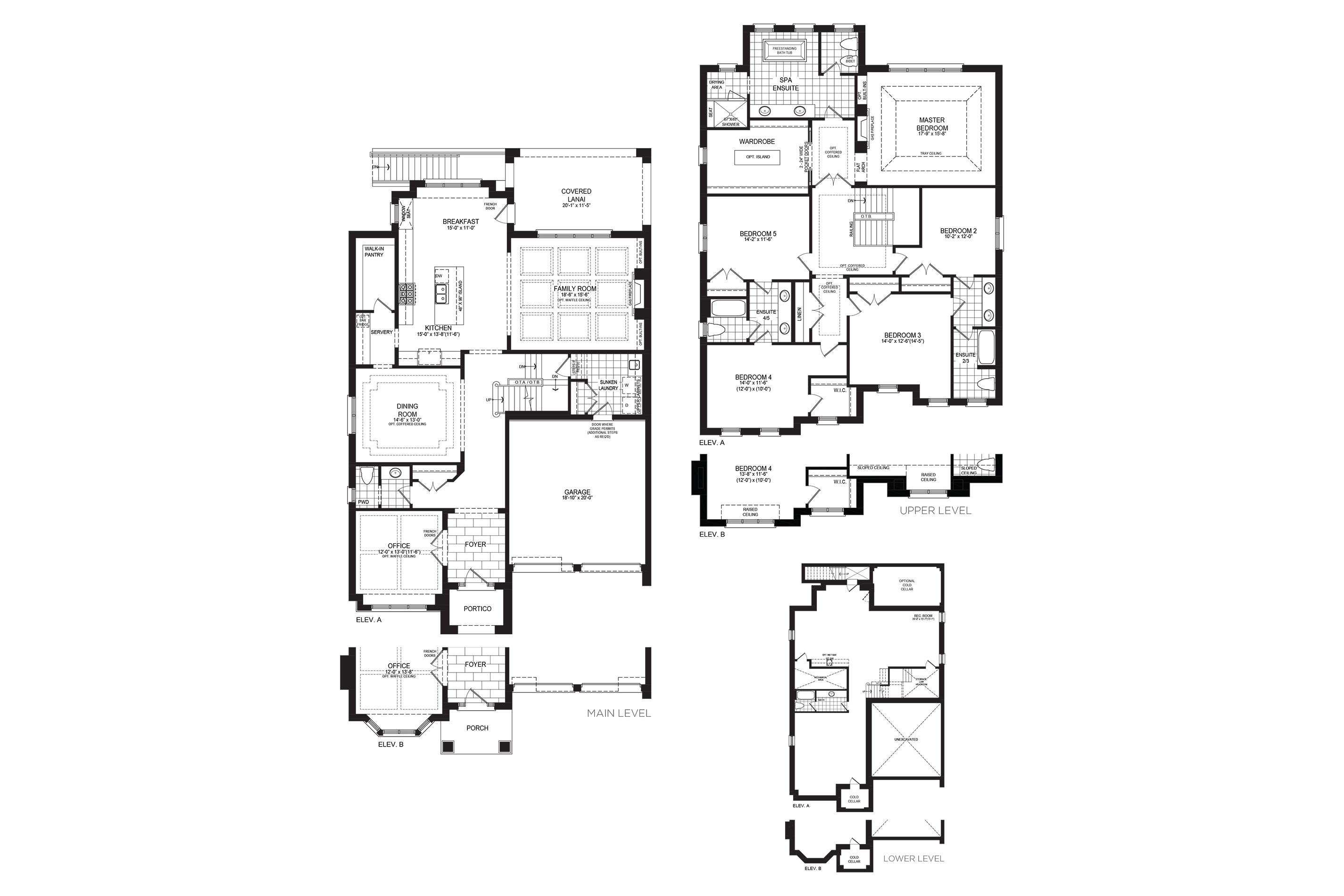 Cambridge 5 Floorplan