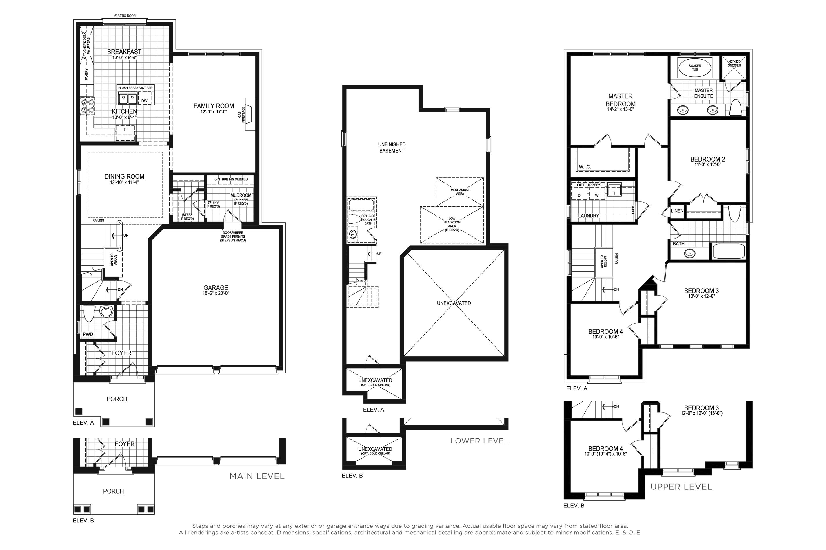 Claremont 3 Floorplan