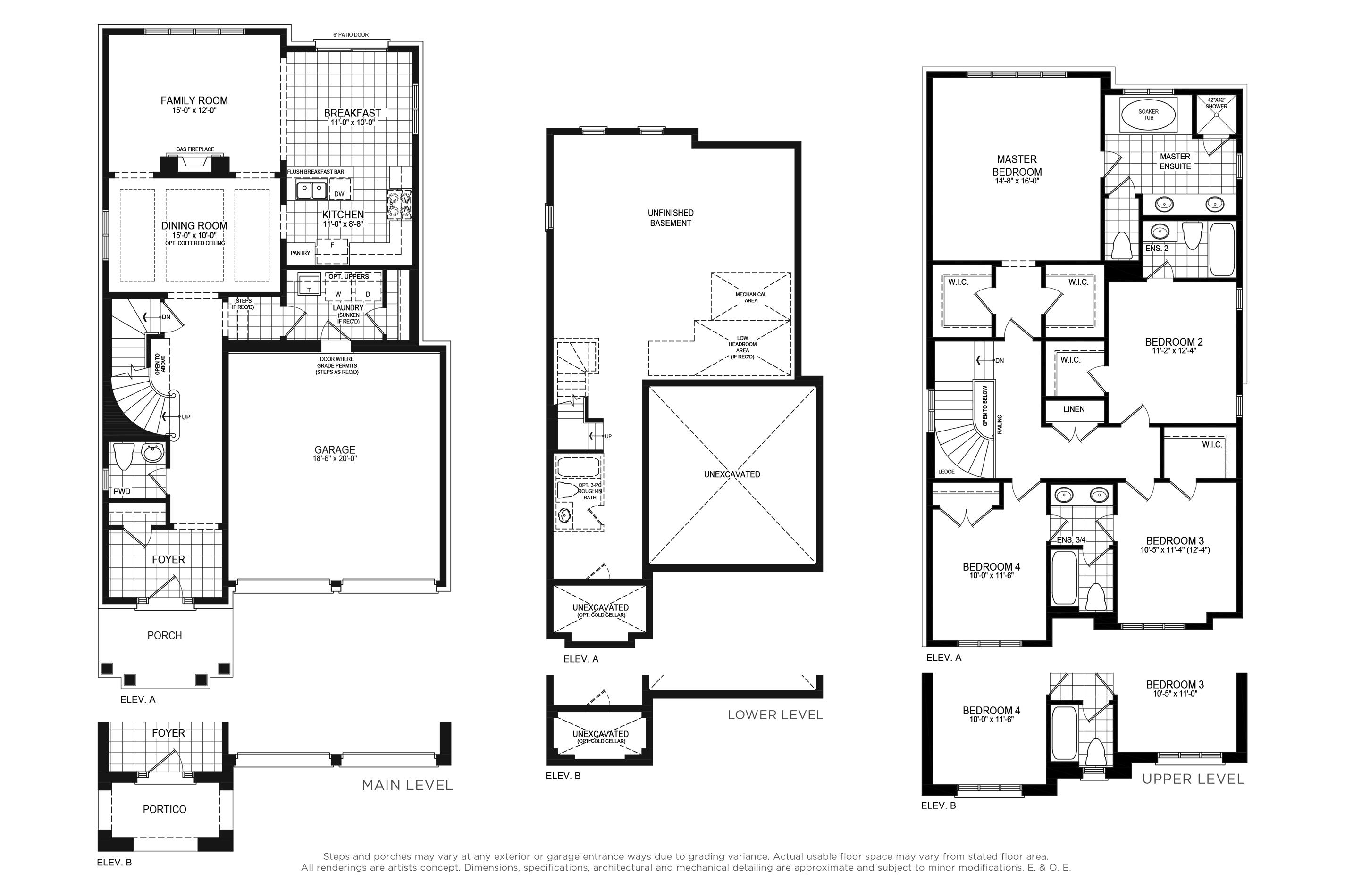 Claremont 4 Floorplan