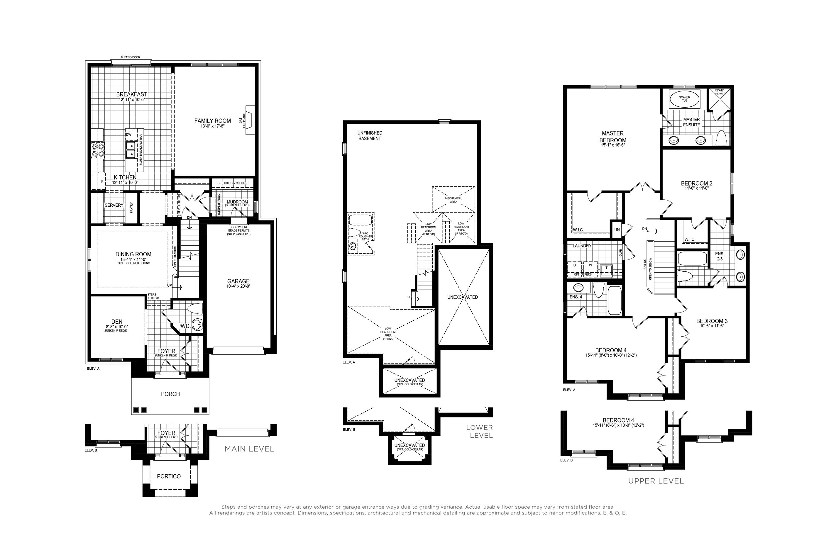 Claremont 5 Floorplan