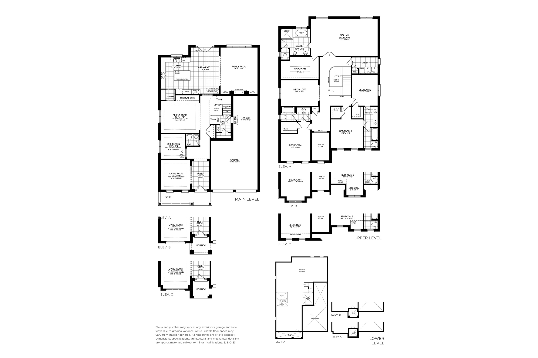 Glenview 6 Floorplan