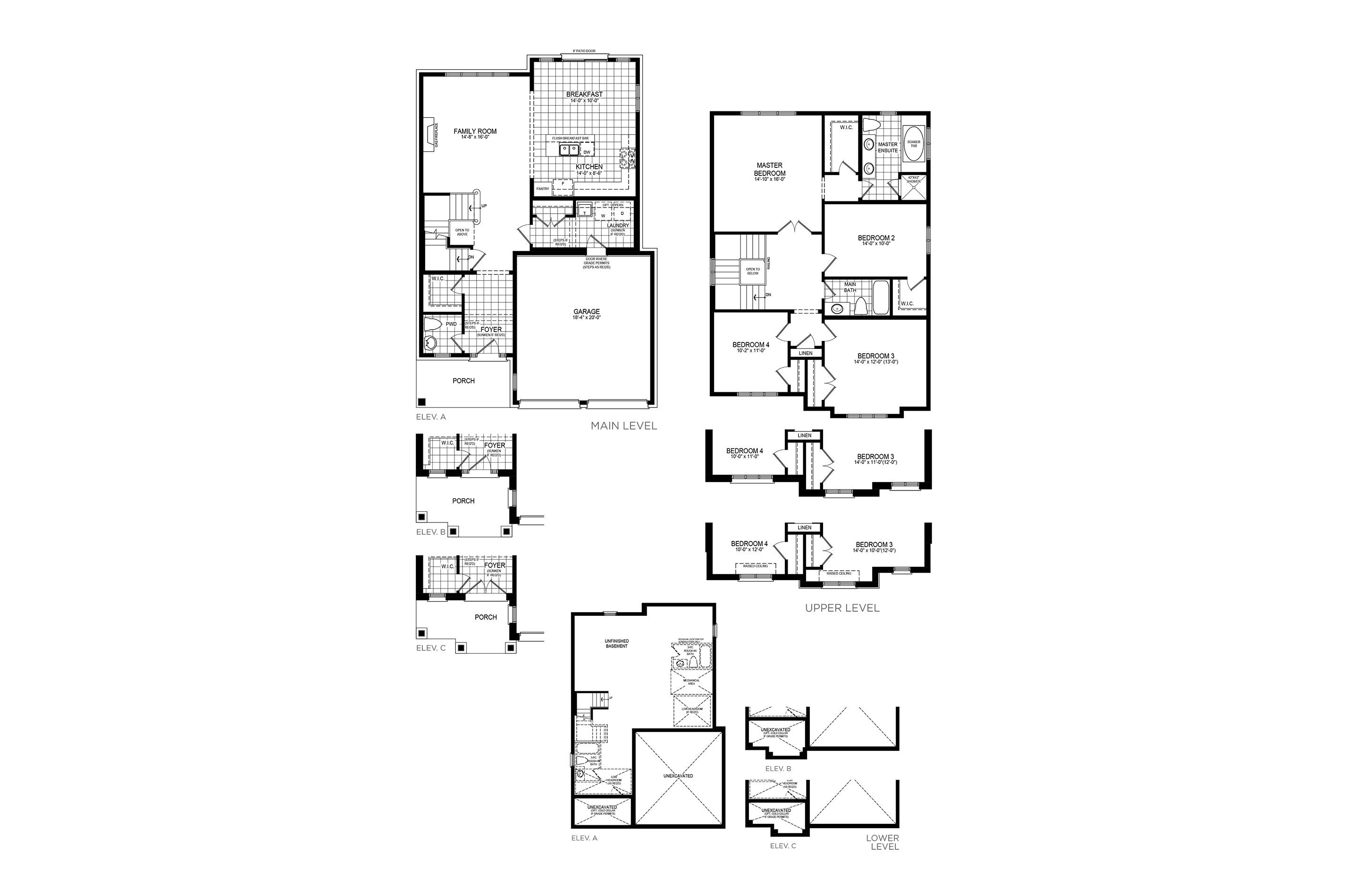 Kingsbury 3 Floorplan