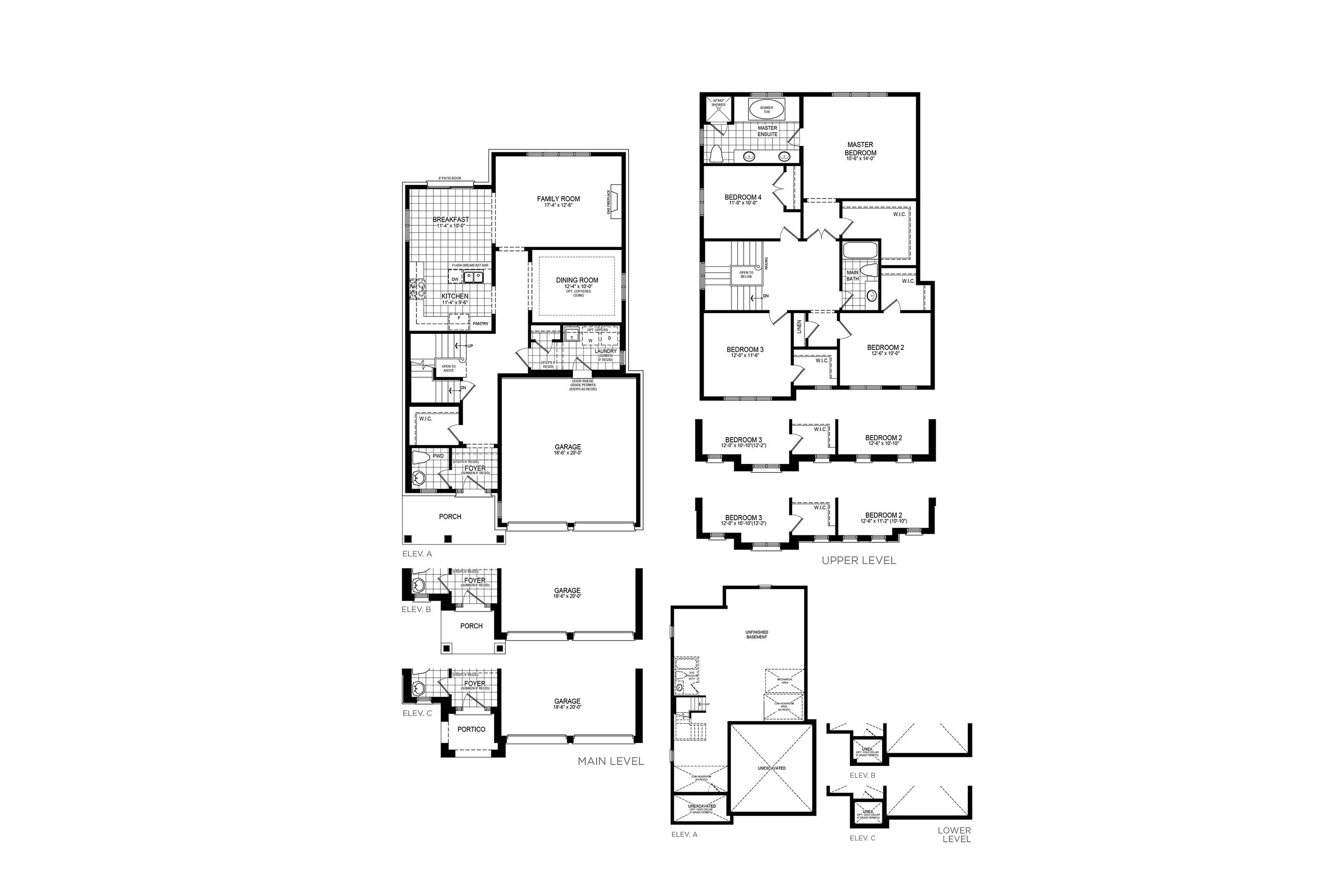 Kingsbury 4 Floorplan