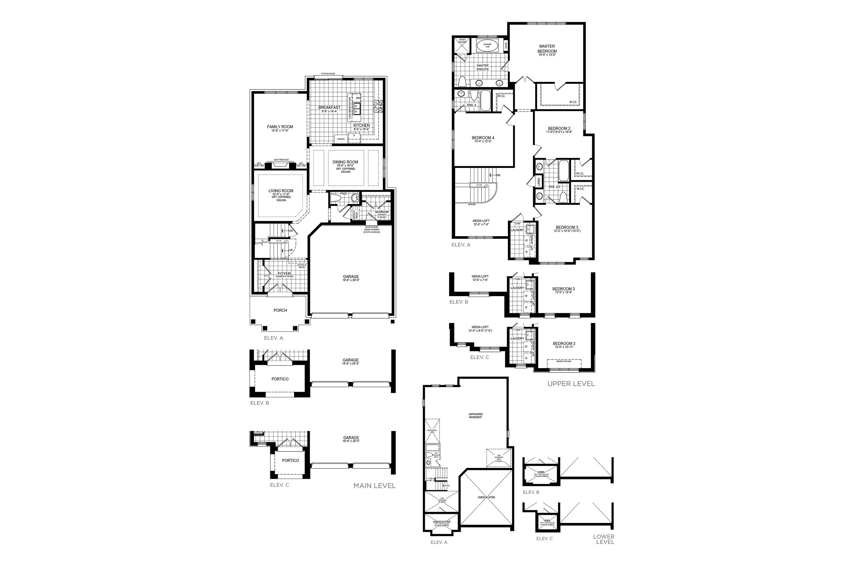 Kingsbury 8 Floorplan