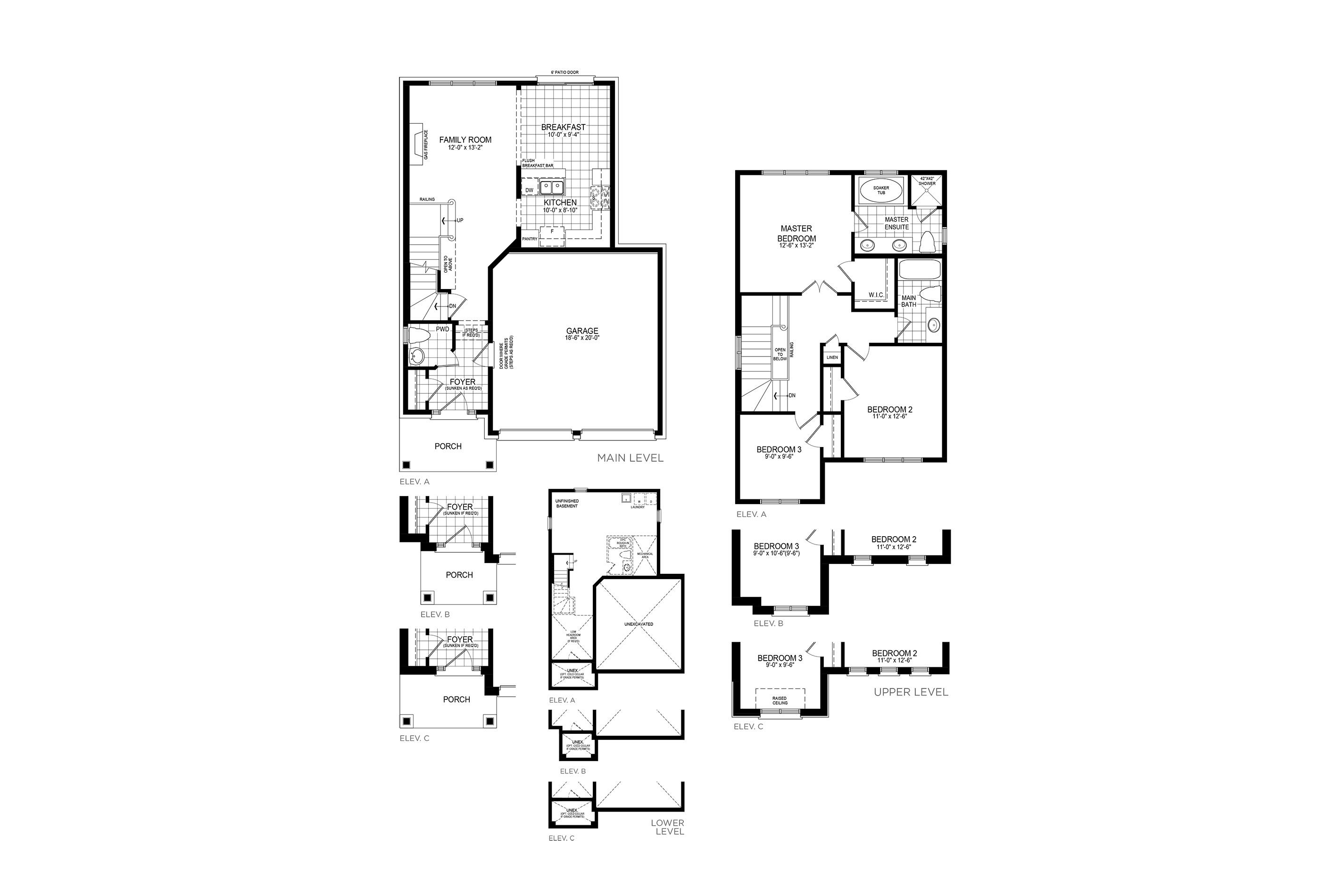 Langley 1 Floorplan