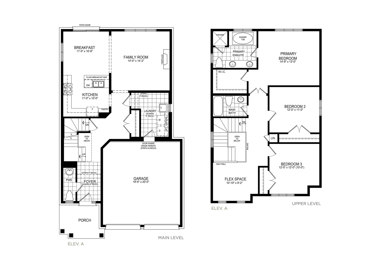 Langley 2 Floorplan
