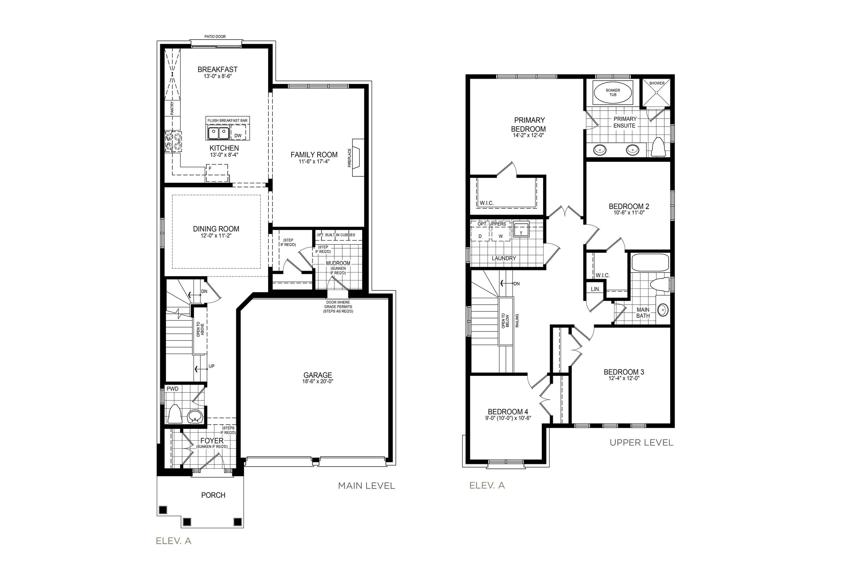 Langley 3 Floorplan