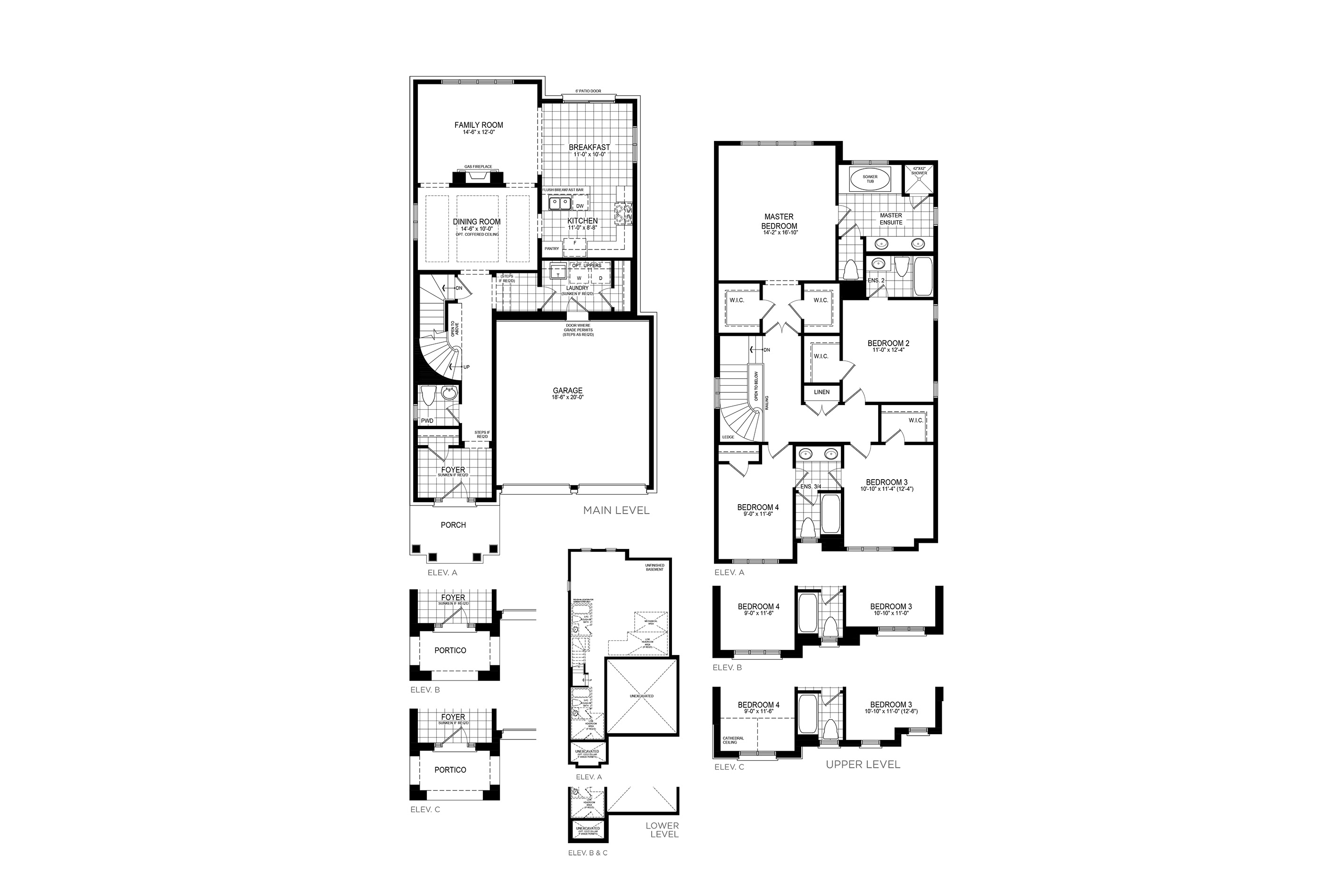 Langley 4 Floorplan