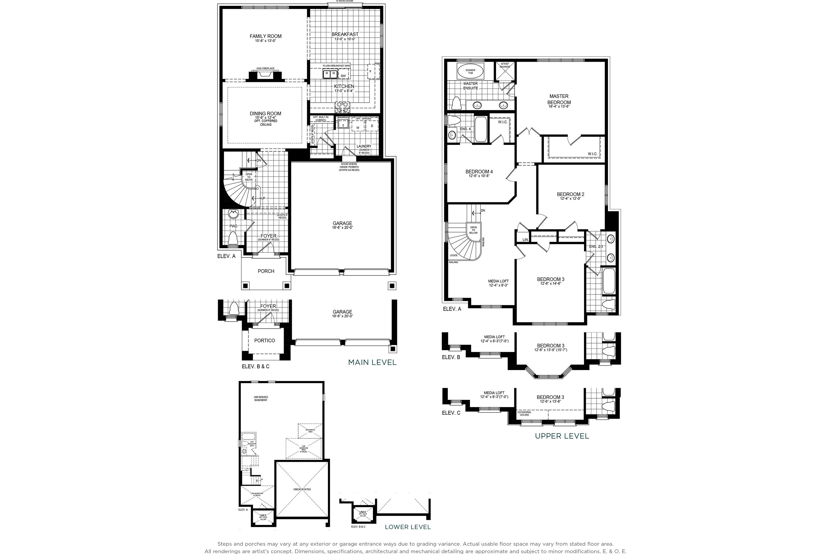 Lynwood 6 Floorplan