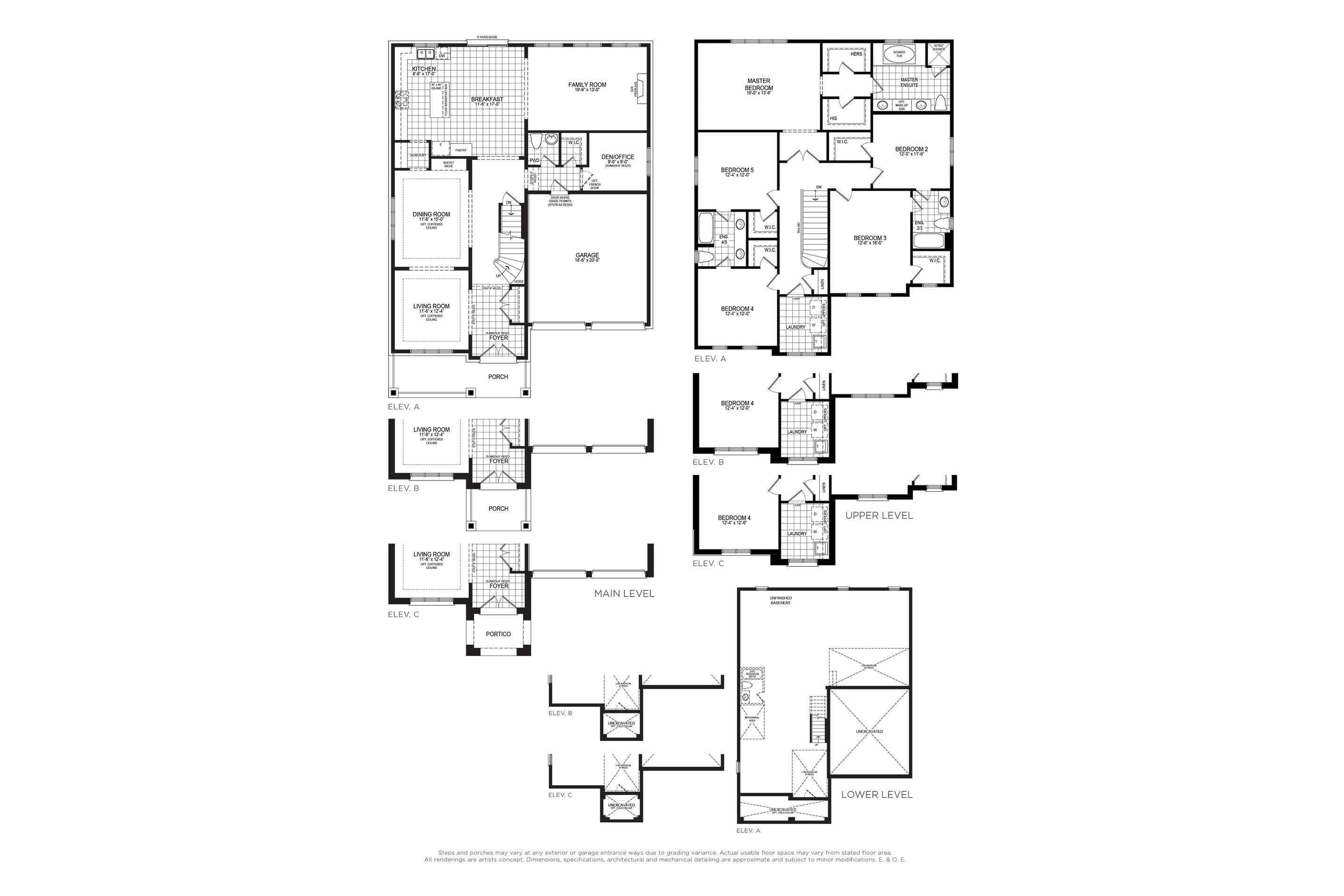 Mandeville 3 Floorplan