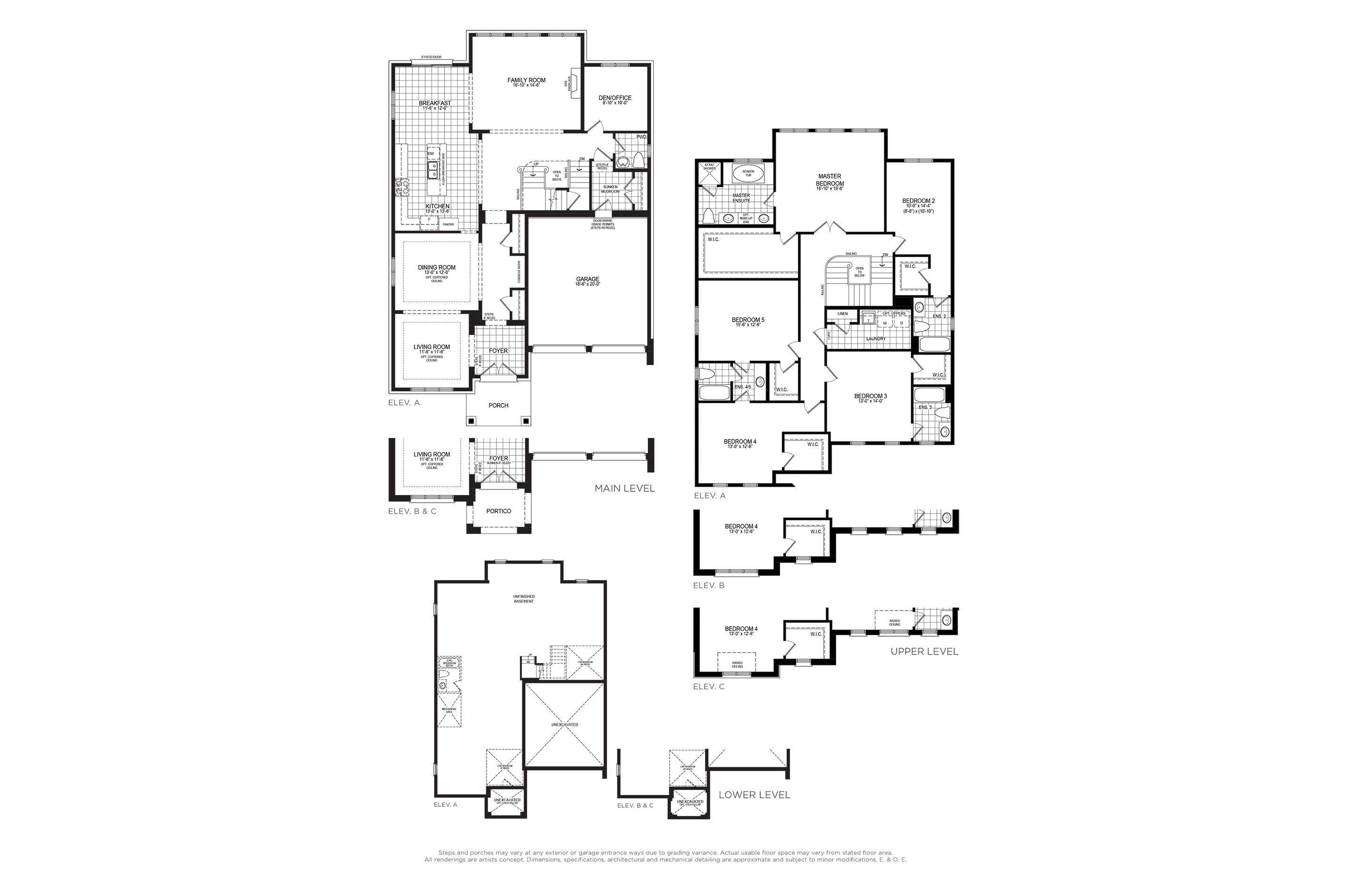 Mandeville 4 Floorplan