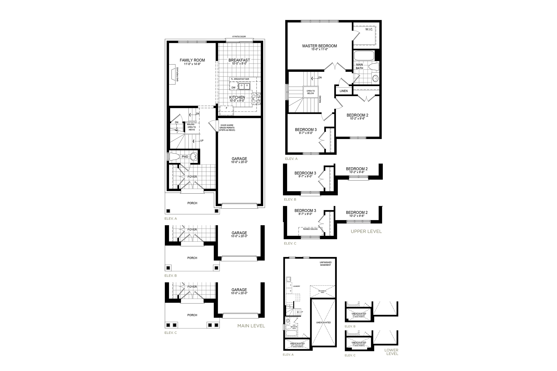 Mayberry 1 Floorplan