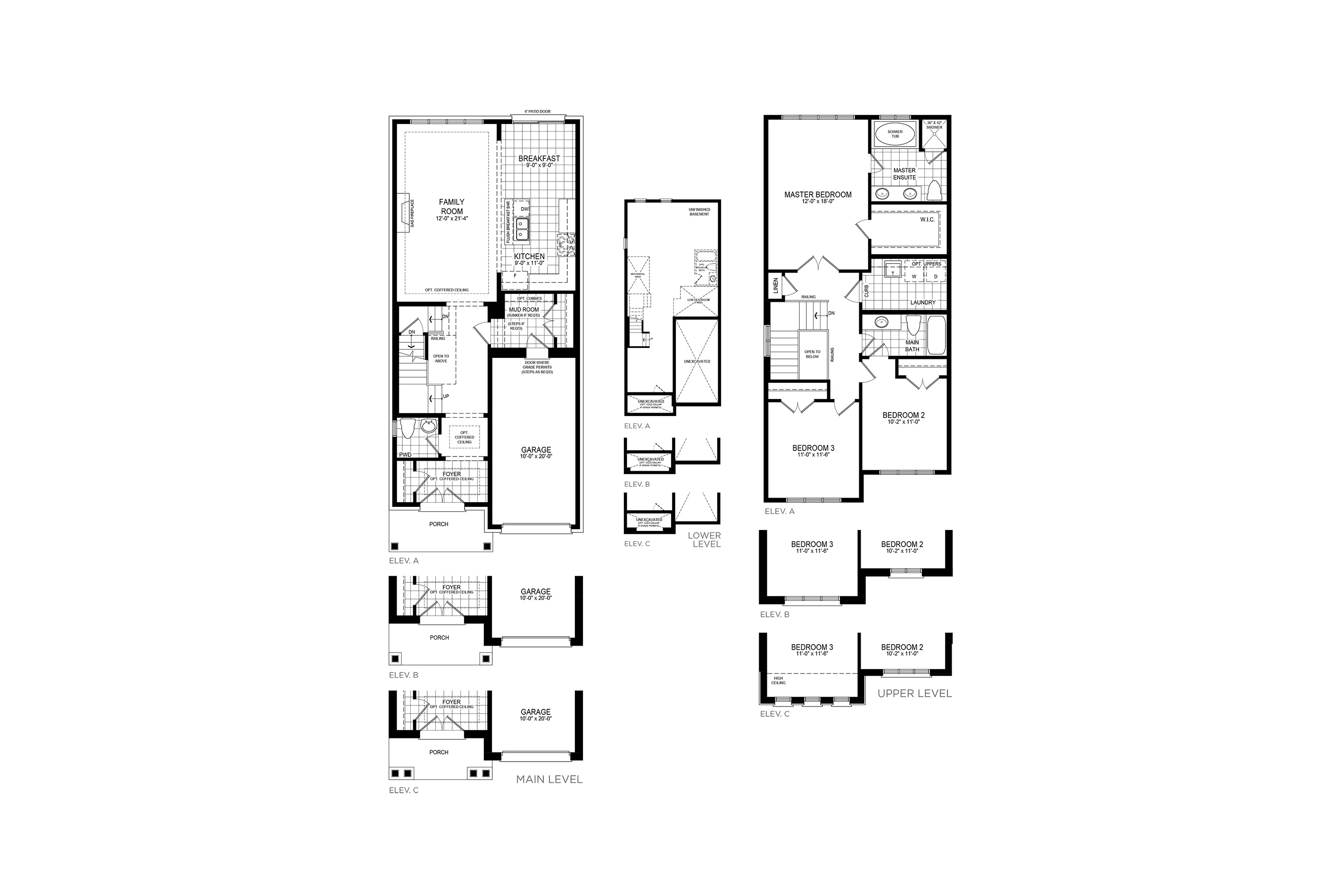 Mayberry 3 Floorplan
