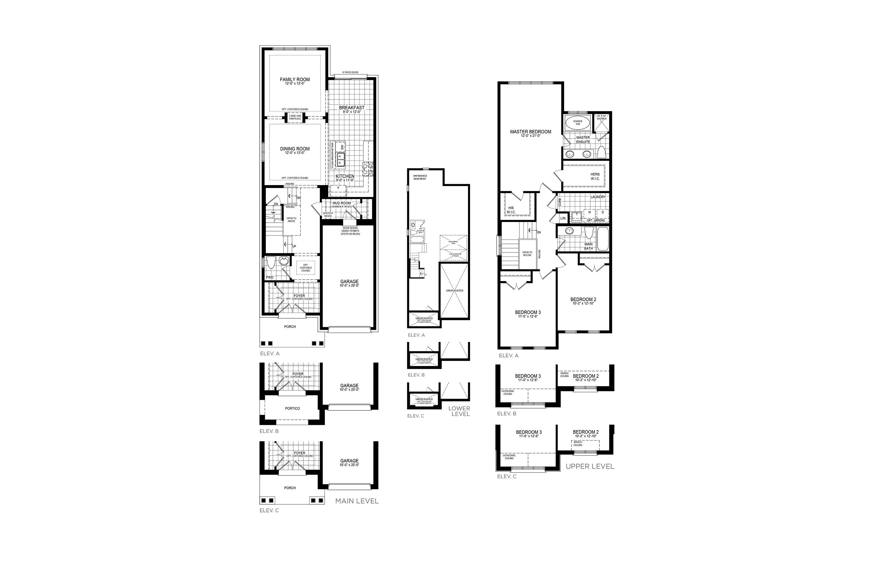 Mayberry 5 Floorplan