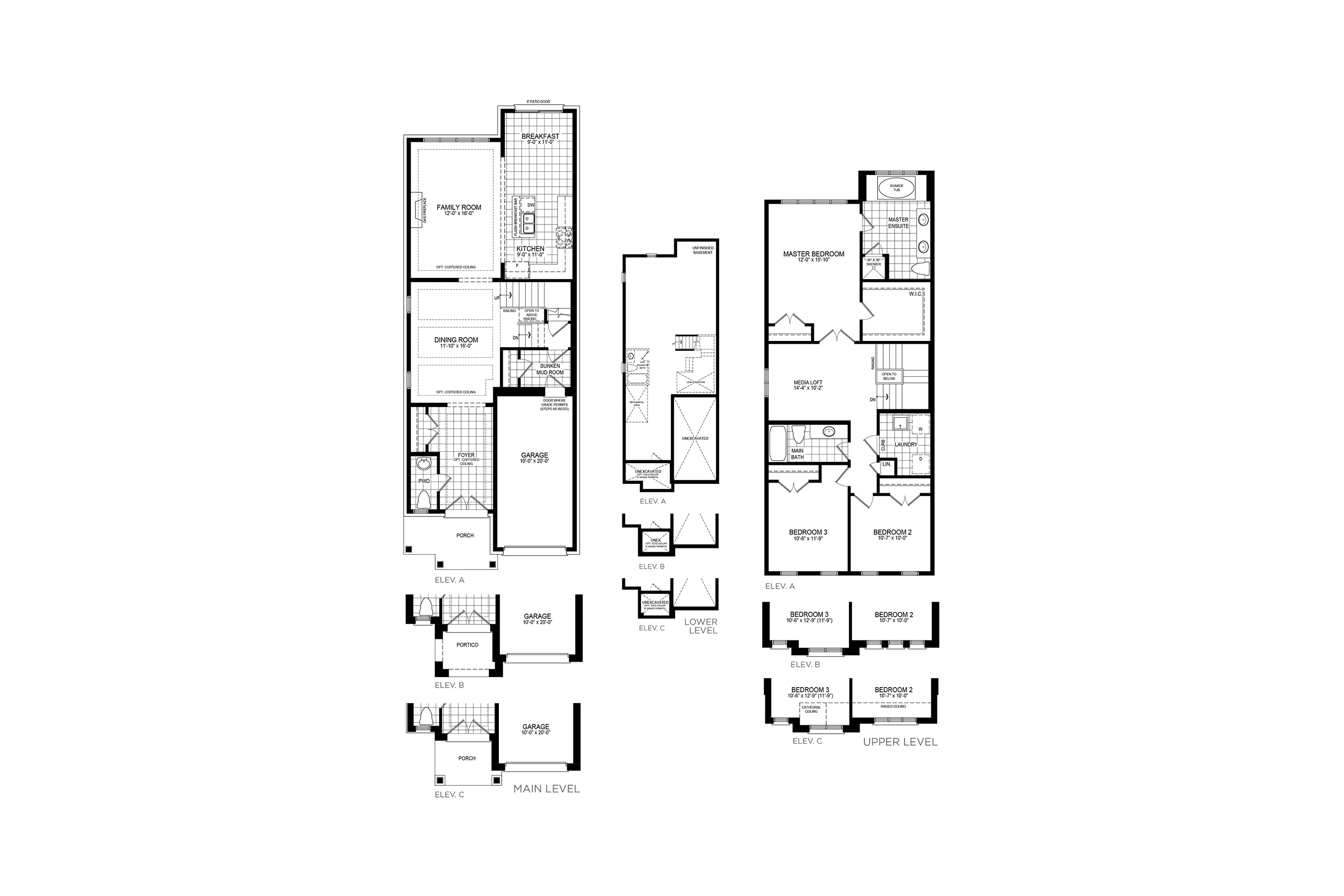 Mayberry 6 Floorplan