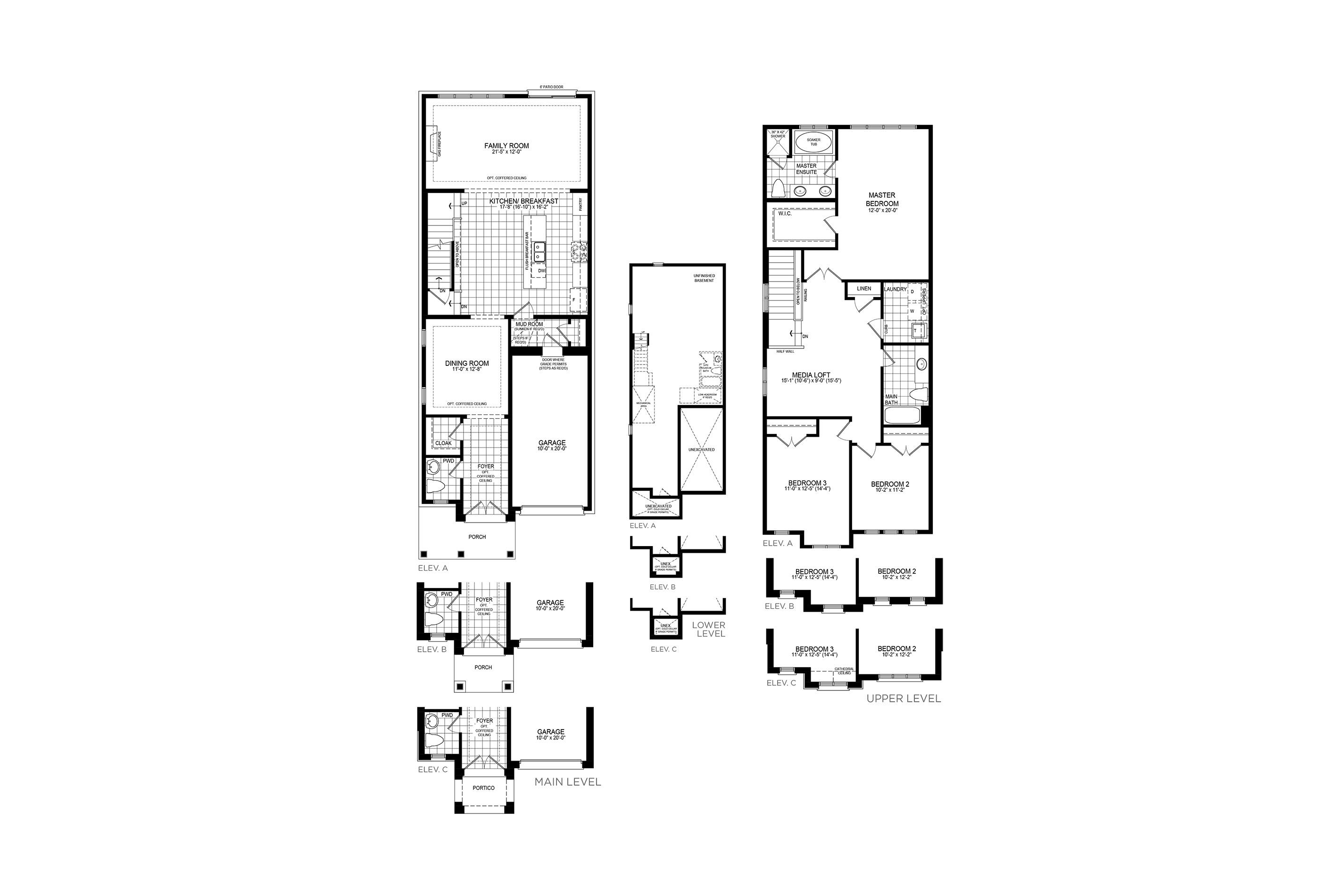 Mayberry 7 Floorplan