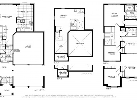 Claremont 1 Floorplan Thumbnail