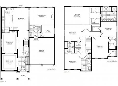 Glenview 4 Floorplan Thumbnail