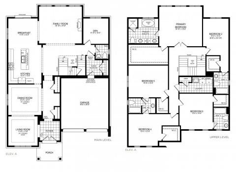 Glenview 5 Floorplan Thumbnail