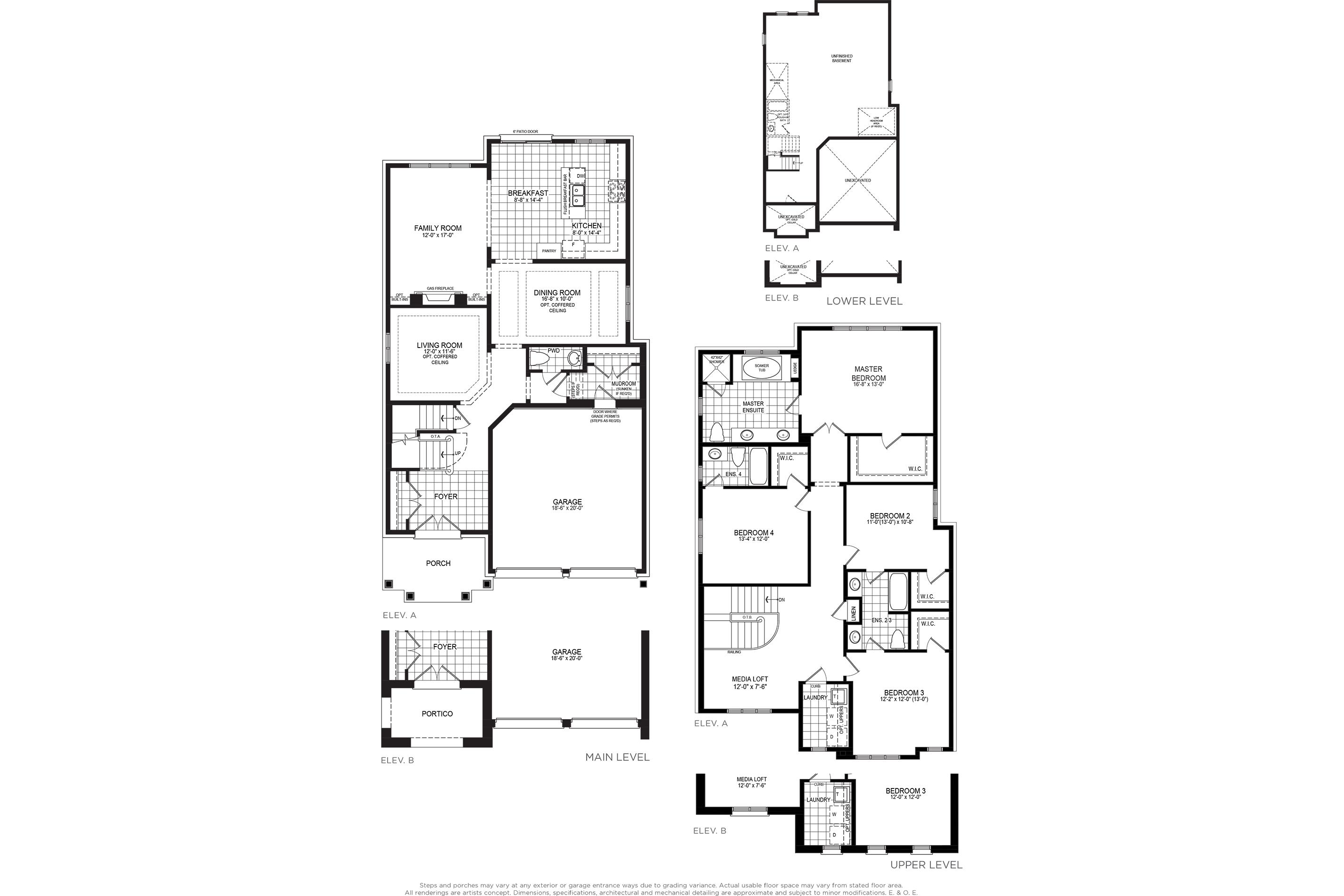 Somerset 5 Floorplan