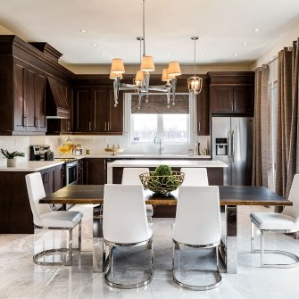 Model Home Kitchen Markham