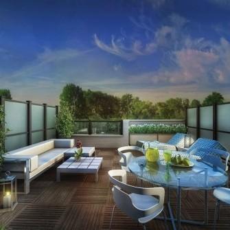 New Condo Terrace