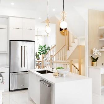 Trendi Townhomes Markham - Modern Kitchen