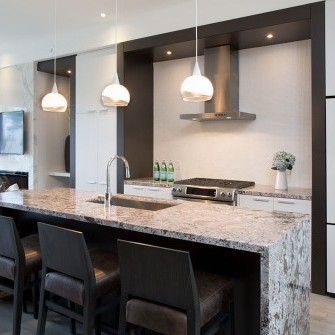 Vaughan Urban Townhome Kitchen