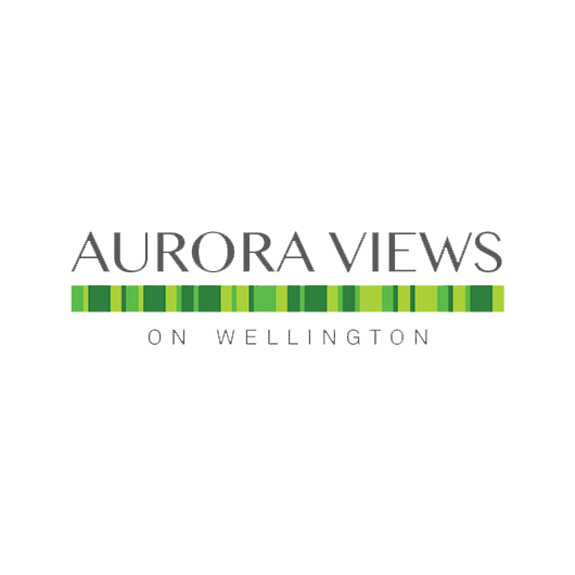 Aurora Views on Wellington Logo