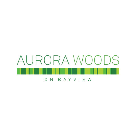 Aurora Woods on Bayview Logo