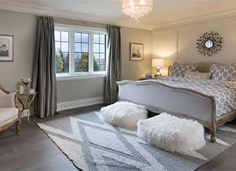 Luxury New Home Bedroom by Treasure Hill