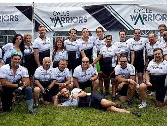 Treasure Hill's Cycle Warriors Beat Their 2015 Fundraising Total