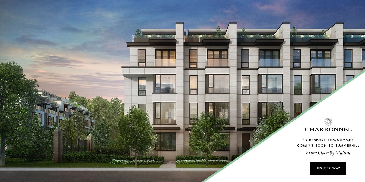 Charbonnel Townhomes in Downtown Toronto