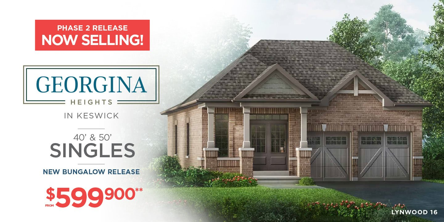 Georgina Heights in Keswick New Homes for Sale