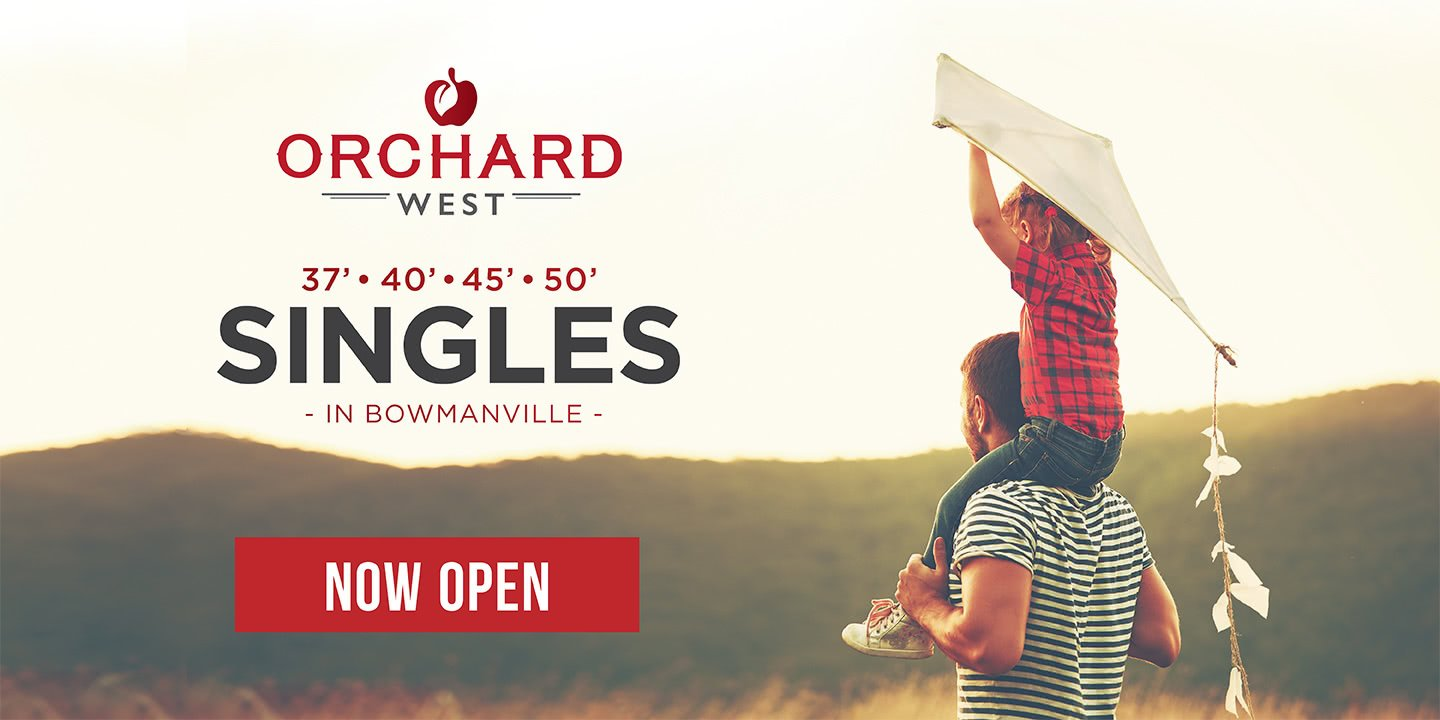 New Homes in Bowmanville Orchard West - Now Open