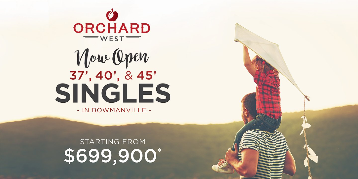 Orchard West in Bowmanville Now Open